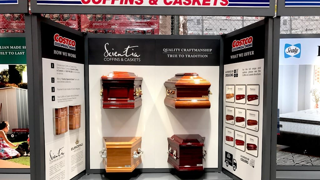 COSTCO & Scientia - Scientia Coffins